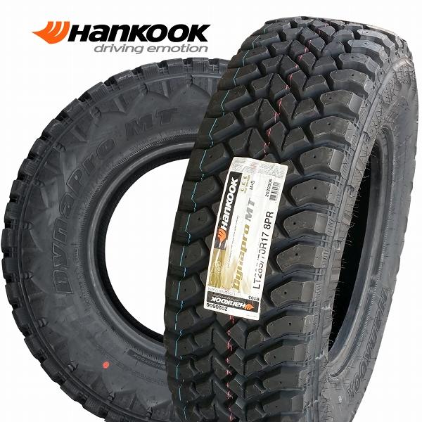 ■ Hankook Dynapro M/T 285/70R17 ■4WD用マッドテレンタイヤ4本セット