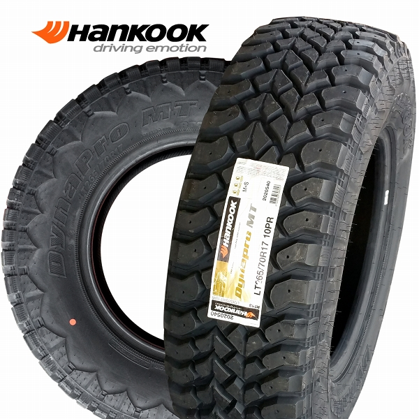 ■ Hankook Dynapro M/T 265/70R17 ■4WD用マッドテレンタイヤ4本セット