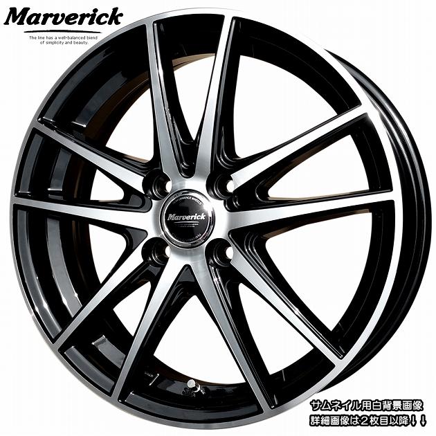 ■ Marverick MA-01 ■綺麗な軽四用16inホイールKENDA KR23A 165/45R16 タイヤ付お買得4本Setタント/ミラ/ココア/ムーブ/コペン/ウエイク/ワゴンR/スペーシア/アルトラパン/ステラ 他