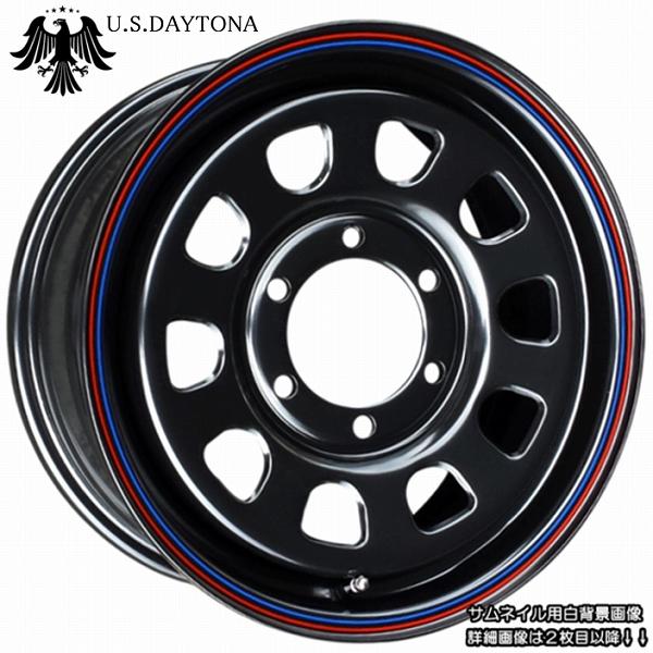 ■ U.S.Daytona デイトナ ■KAPSEN RS01 215/65R16 タイヤ付ブラックカラー 日産NV350/E26キャラバン他