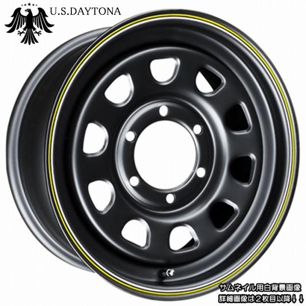 ■ U.S.Daytona デイトナ ■KAPSEN RS01 215/65R16 タイヤ付マットブラックカラー 200系ハイエース他