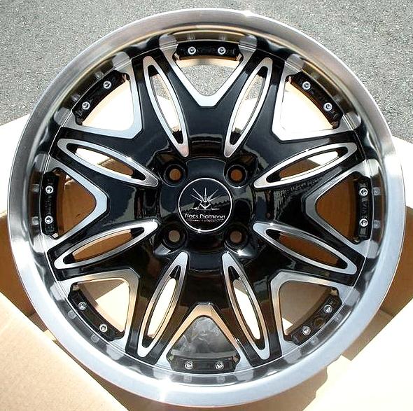 ■ Black Diamond BD01 ■   GOODYEAR 165/50R16 タイヤ付4本セットステ ラ/ラパン/ワゴンR/タント/ウェイク/ムーブ/N-BOX/N-ONE/N-WGNなど軽四に!!