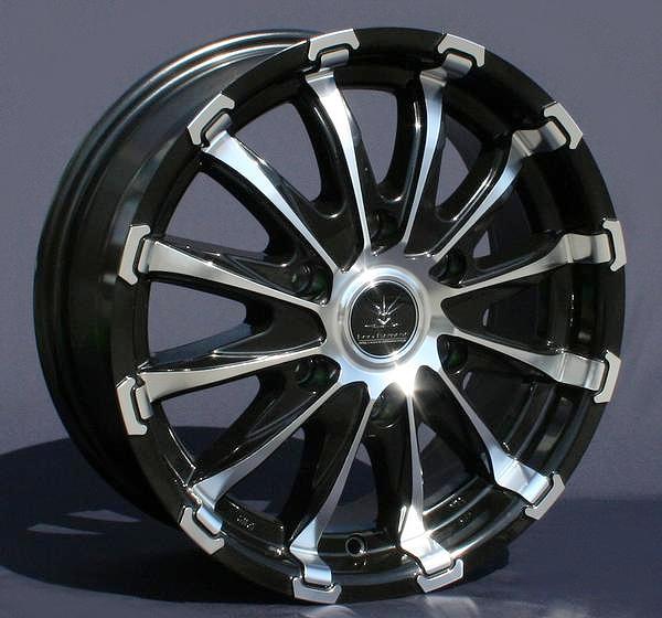 ■ Black Diamond BD12 ■Hankook 215/65R16 タイヤ付4本セット200系ハイエース推薦サイズ PCD139.7