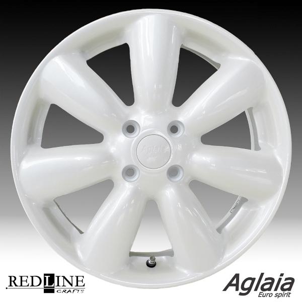 ■ 可愛いラウンドシェイプデザイン Aglaia ■キュート♪な軽四用16inホイールKENDA KR20 165/50R16 タイヤ付4本セットはみ出しにくいオフセット+50モデル軽四全般/スズキハスラー推薦サイズ!!