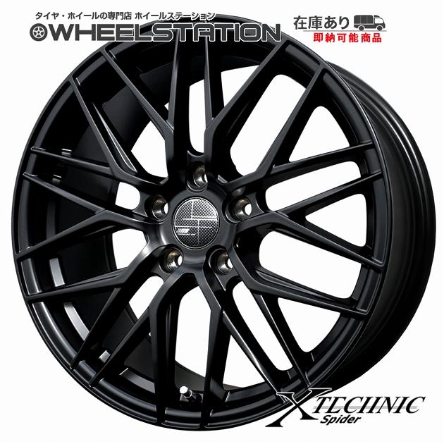 クロステクニック スパイダー ■ X-TECHNIC Spider ■17x7.5J OFF+52 5H/PCD112精悍な見た目のスパイダーメッシュホイール4本セットメルセデスベンツ Mercedes BenzAクラス(W176系) Bクラス(W246/T245系)CLA(C117系) 他※注意:輸入車注意事項あり