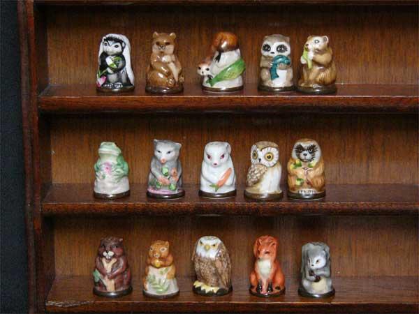 森林的動物等朋友of福裏斯特15個全套富蘭克林坡絲氨酸薄荷1982年發行vintejishimburu釘針箍狐狸兔子水獺鷲狸青蛙risu貓頭鷹鬆鼠02P05Sep15