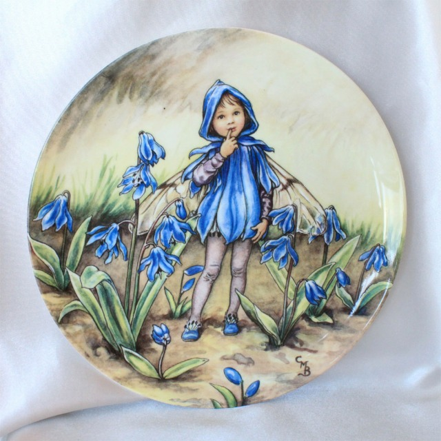 Wedgwood シラー フェアリー Scilla Fairy 花の妖精が可愛らしいフラワー フェアリー 絵皿 シシリー メアリー バーカー イギリス ウェッジウッド ウォールプレート 飾り皿 プレゼント ギフト 【中古】 【送料無料】 02P07Nov15