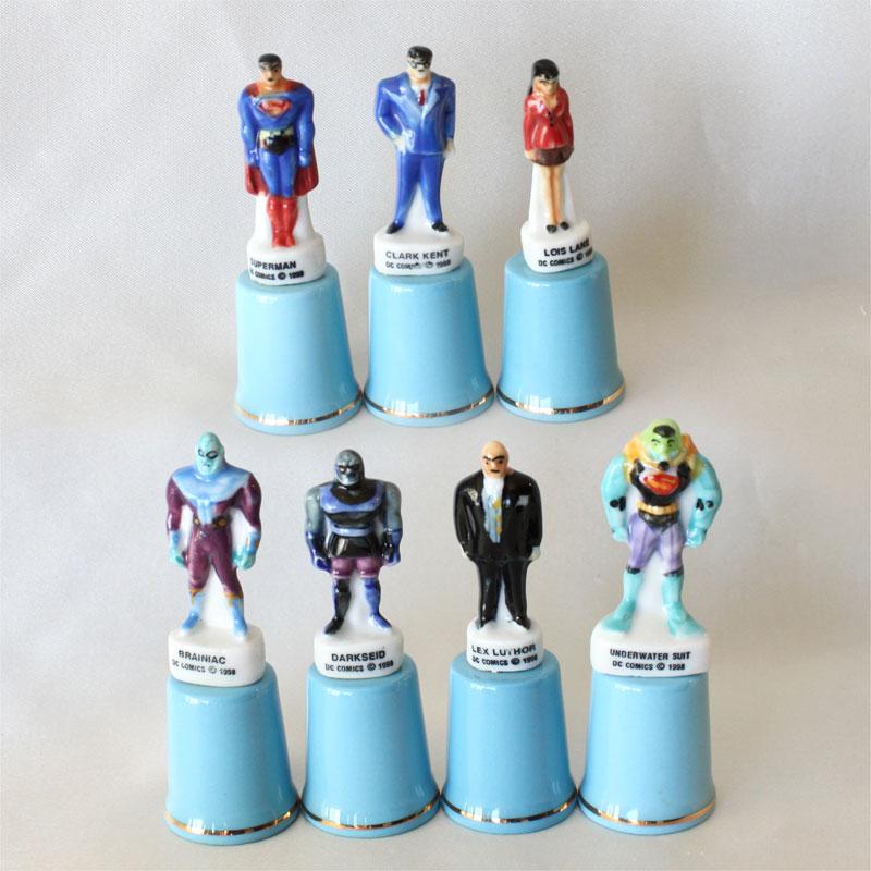 スーパーマン Superman フィギュア モデルトップ WB ワーナーブラザース 限定発行 モデルトップ スターリング & クラシック Sterling & Classic シンブル 指貫き ソーイング 【送料無料】