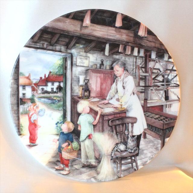 1991年 キャンドル メーカー Candle Maker ロウソク オールド カントリー クラフト 伝統工芸 ロイヤル ドルトン Royal Doulton 絵皿 ウォール プレート 飾り皿 プレゼント ギフト 【中古】 【送料無料】 02P29Aug16 02P03Sep16 02P20Aug16 532P14Aug16