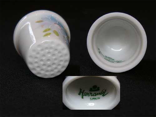 1995 Catalunya (Catalonia) TCC thimble (thimble) errands (Herrandiz Porcelain) Spain