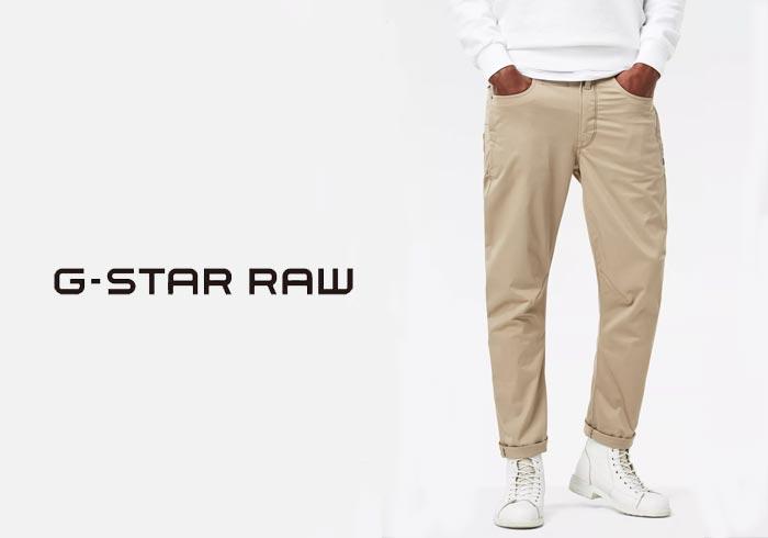 ジースター ロウ G-STAR RAW D-Staq 3D テーパードパンツ/D05511-5126/送料無料【ジースターから新作アイテムが登場!!】