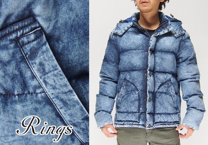 Rings[リングス] 中綿ジャケット/アウター/136112/送料無料【リングの新作アウター】