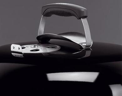 Weber韋伯1241008 47cm/18.5英寸Original Kettle orijinaruketoru One Touch Charcoal Grill按一個按鈕木炭烤爐