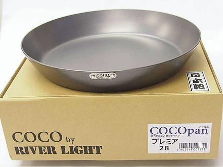 C103-003 極SONS COCOpan - ココパン - プレミア 28cm 鉄製 フライパン 日本製お取り寄せ