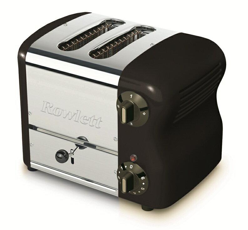 Rowlett Rutland ローレット社 2WTB-491E エスプリコレクション ローレット トースター ブラックポップアップトースター