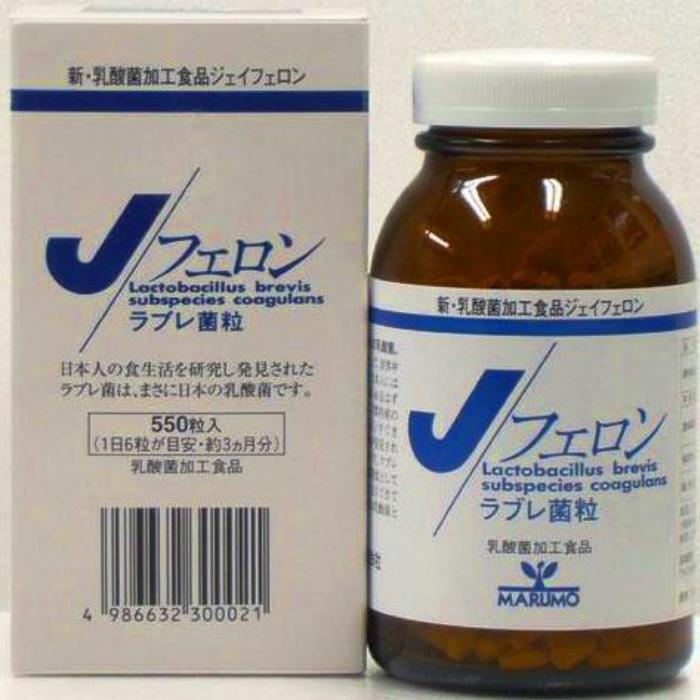 新・乳酸菌加工食品、ジェイフェロン、 Jフェロン(和風乳酸菌) (まるも)250mg×550粒(約3ヶ月分)【全国一律送料無料】