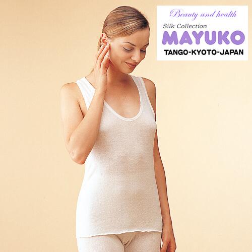 着ているだけでお肌の潤いが復活 シルクの肌着は夏は爽やかで 冬はとっても暖かいのが特徴です こだわりの品 肌に優しいシルク100%ババシャツはイヤって言う人もいるけど絹の肌着が体と肌に一番なんですタンクトップ縫縫い糸もシルク100%なので敏感肌にも安心な肌着 即納最大半額 コベス 祝日 神戸生絲 京都国産 冷え取り 妊婦服