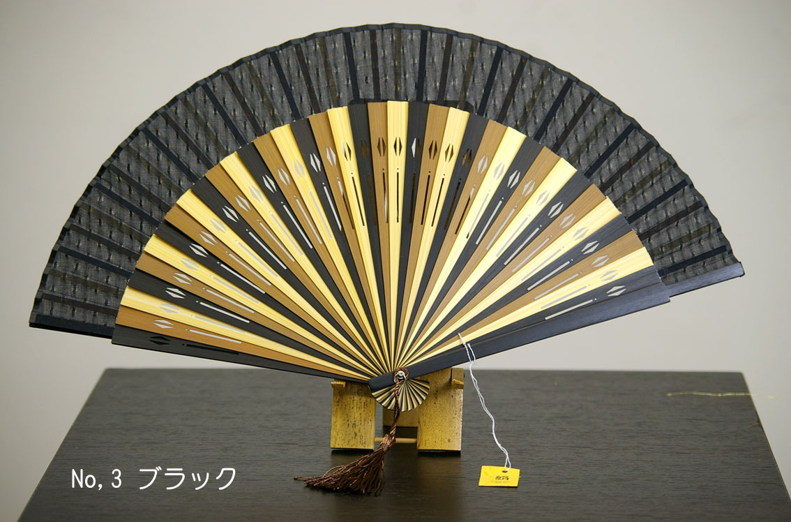 It is usable from / spring made in wonderful Men,s silk folding fan / good quality Japan suitable for silk folding fan / silk folding fan / men of Kyoto to autumn. Three colors of the silk 張 りせんす / green black brown prepared. /made in kyoto-japan