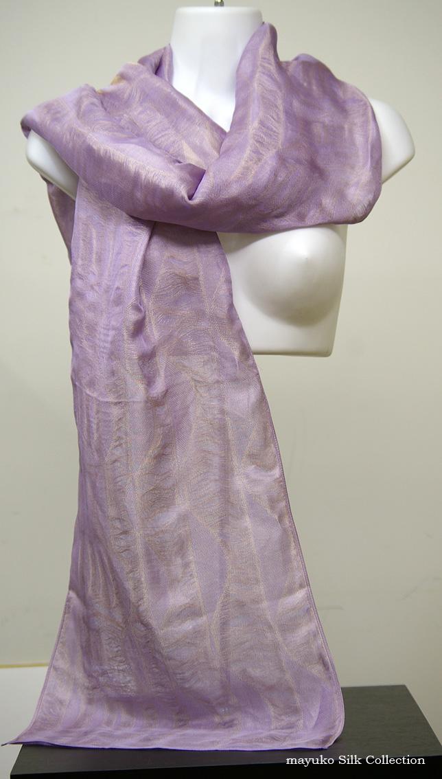 d05ca34f741 Shawl Elegance / wedding of Nishijin silk Mie gauze woven fabric using  grace Wedding guest dresses ...