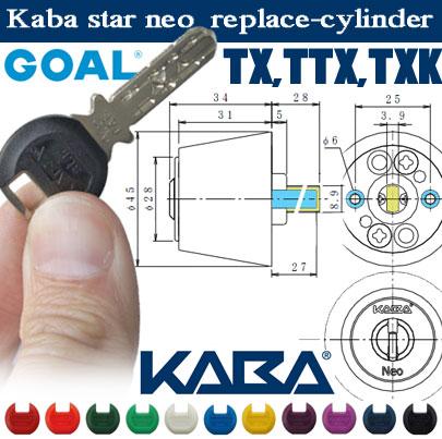 【送料無料!】KABA star Neo カバスターネオ6158 【GOAL TX、TTX、TXK用】<ニッケル・シルバー>