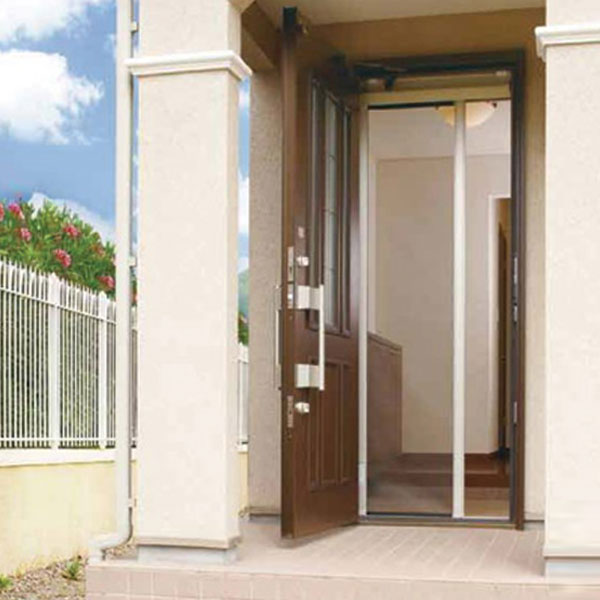 後付け玄関網戸 ロールフリーIII(3) Hサイズ(片引き)