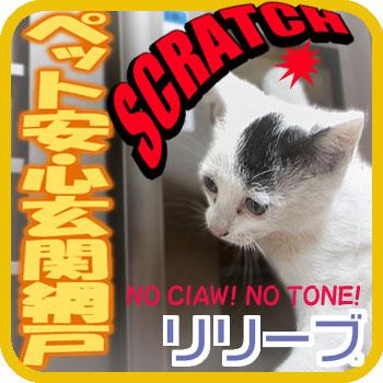 ペット対応 玄関網戸 『 リリーブ 』 標準タイプ ~ サイズD