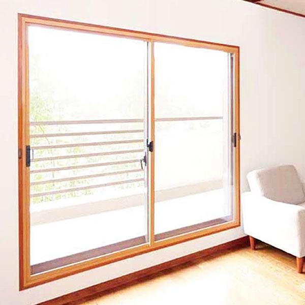 【CH-4サイズ】 セイキ軽量断熱内窓 楽窓II(ラクマド2) 透明ポリカ3mm/ポリカカラー3mm 2枚建タイプH~2050mm、W~2000mm