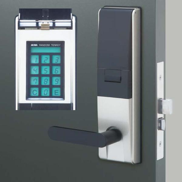 タッチパネルタイプ暗証番号錠 MIWA ランダムテンキーロック U9 [正規販売店] TK4LT33-2 お気に入り 自動施錠タイプ
