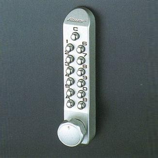 LA/DA//BH/LD装着型ボタン錠 (キーレクス500) キーレックス