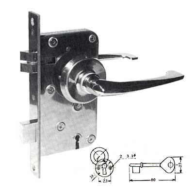 大決算セール Ohshima オーシマ船舶専用錠 OHS 2410 人気 片面棒鍵 棒鍵モーチスロック