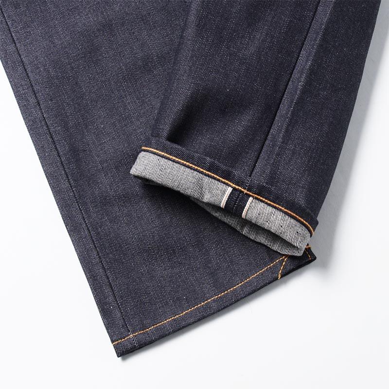 牛羚D牛仔褲nudie jeans co按鈕油炸食品牛仔褲GRIM TIM ORGANIC DRY SELVAGE藍色派grim tim 111205人