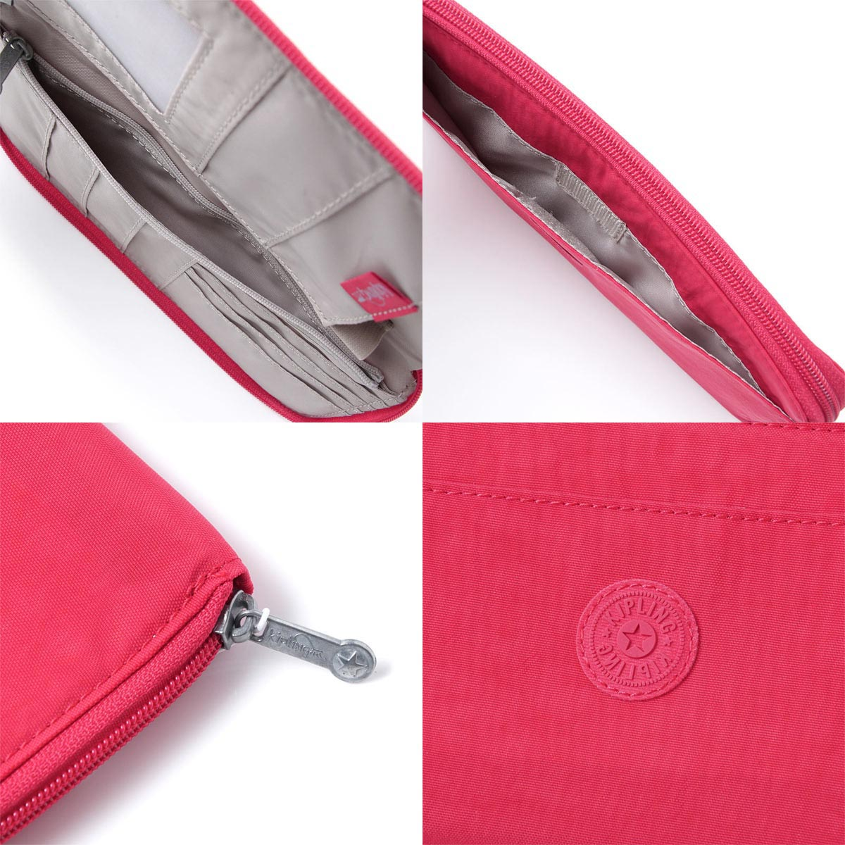 977cee4ec7bb キプリング kipling travel case passport case Lady's trip gift present k13255 g46  TRAVEL DOC