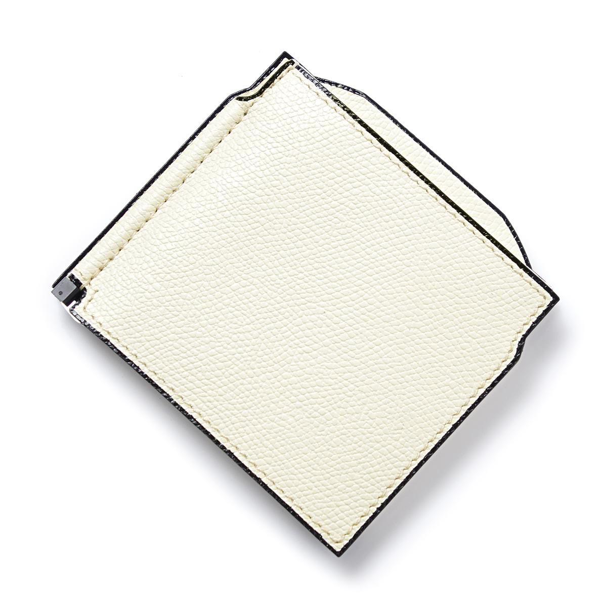 ヴァレクストラ Valextra マネークリップ 財布 ホワイト メンズ レディース ウォレット カードケース ギフト プレゼント v0l54 28 w LEATHER【あす楽対応_関東】【ラッピング無料】【返品送料無料】【180614】