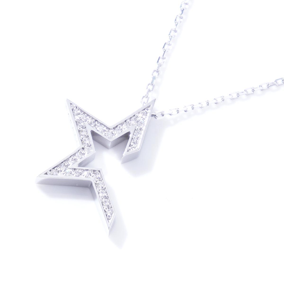 ガーデル GARDEL ネックレス STAR TOW ME COLLECTION SILVER シルバー系 gdp134 sv cz メンズ&レディース【返品交換不可】