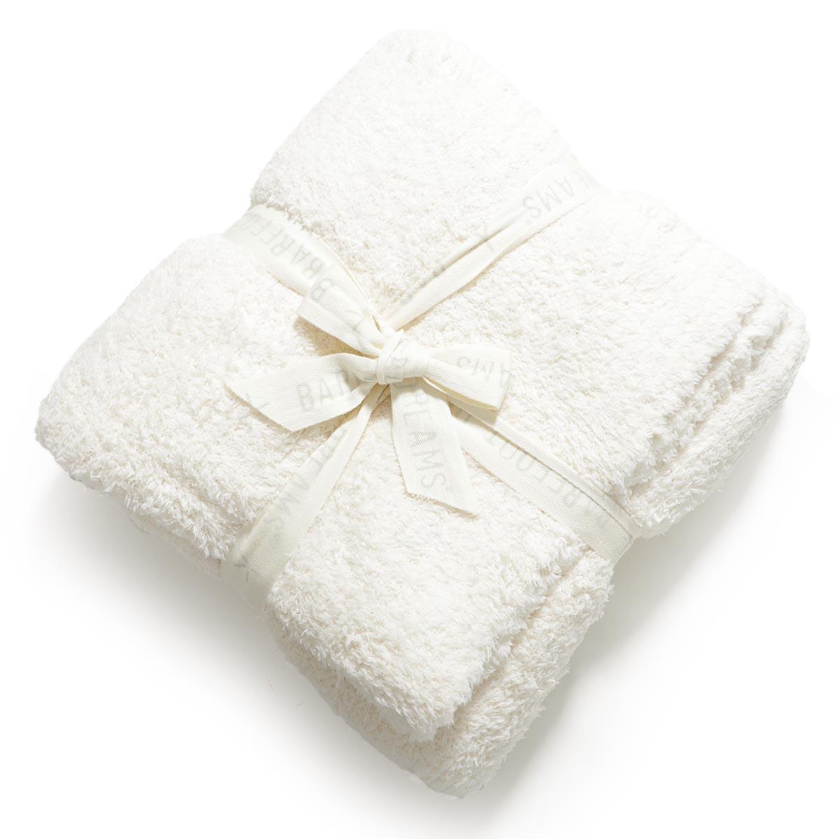 ベアフットドリームス BAREFOOT DREAMS ブランケット ホワイト b503 03 00 cream THROW BLANKET【あす楽対応_関東】【返品送料無料】【ラッピング無料】