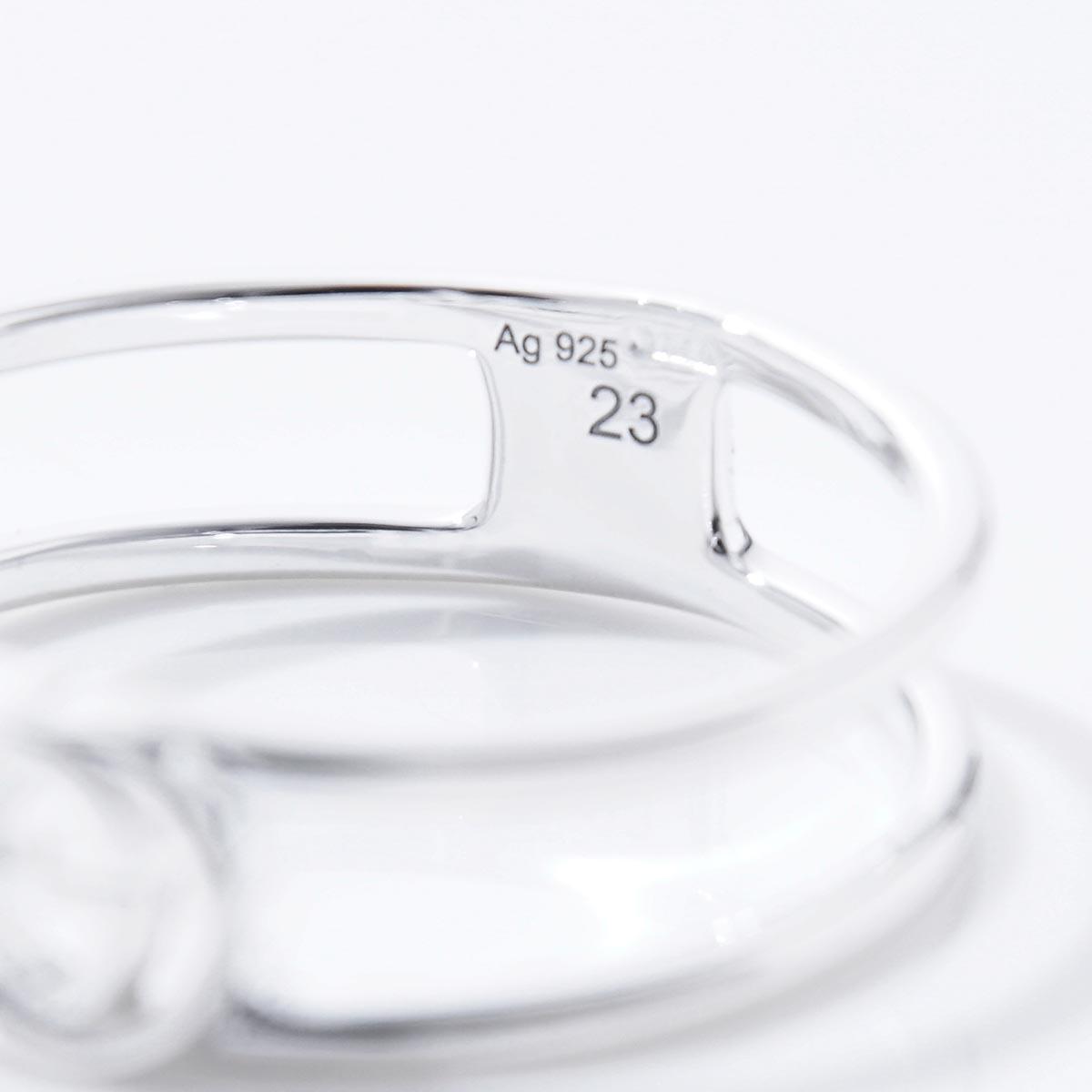 e36d1d3682b2cd Modern Blue Rakuten Ichiba Shop: Gucci GUCCI ring interlocking grip ...