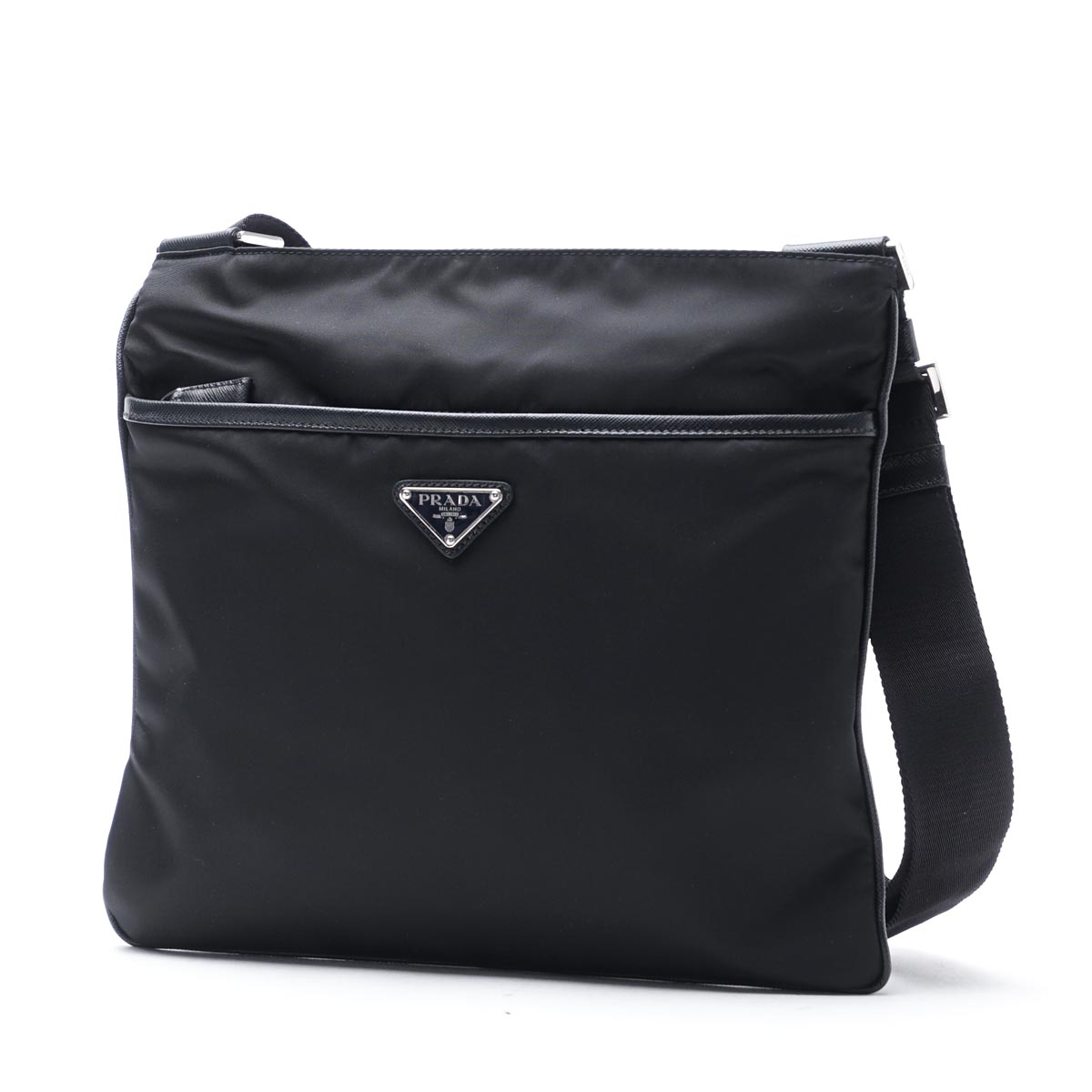 47ffbea08a3d Prada PRADA messenger bag shoulder bag black men black shoulder bag black  2vh053 064 f0002 BANDOLIERA ...