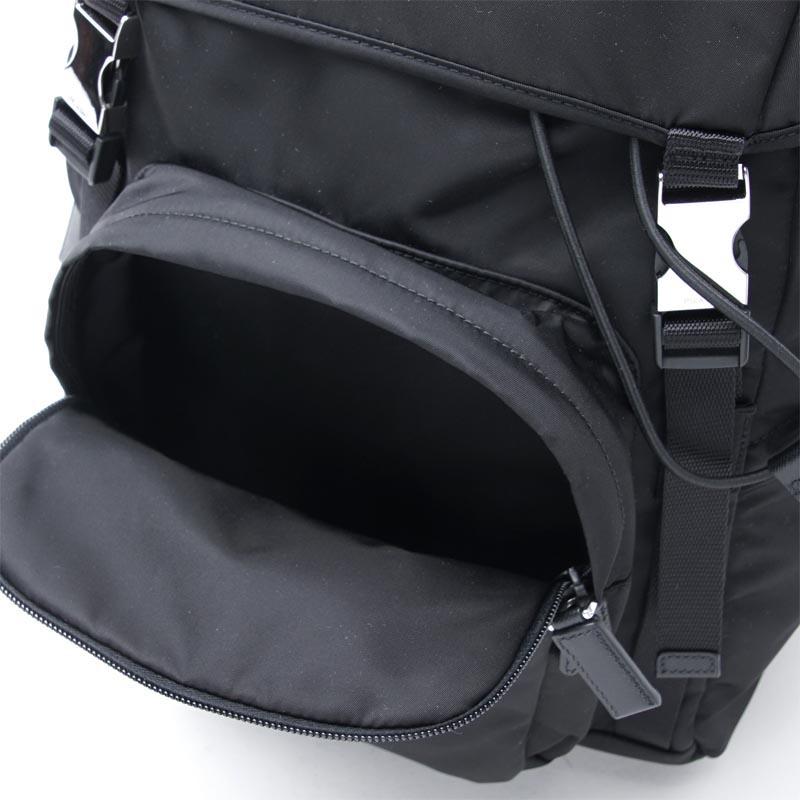 5305827e Prada PRADA backpack black men backpack bag commuting 2vz135 973 f0002  ZAINO TESSUTO MONTAGN