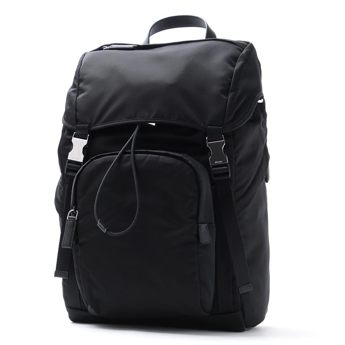 e630f0f186c7 ... promo code for prada prada backpack black men backpack bag commuting  2vz135 973 f0002 zaino tessuto ...