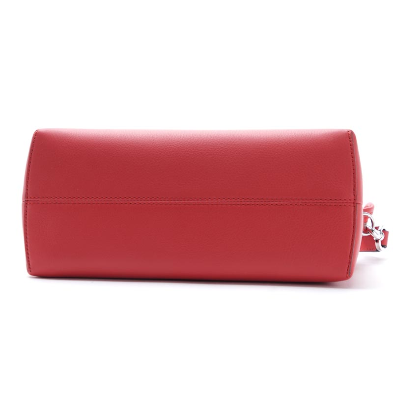 Fendi FENDI Boston bag (2WAY specifications) BY THE WAY visor way LEATHER FLAME X PALLADIUM red system 8bl124 1d5 f0y77 Lady's