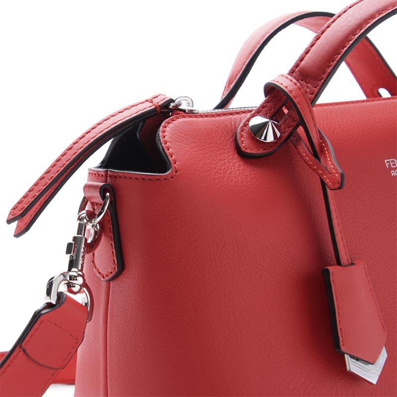 芬迪FENDI宽底旅行皮包(2WAY式样)BY THE WAY面罩方法LEATHER FLAME×PALLADIUM红派8bl124 1d5 f0y77女士