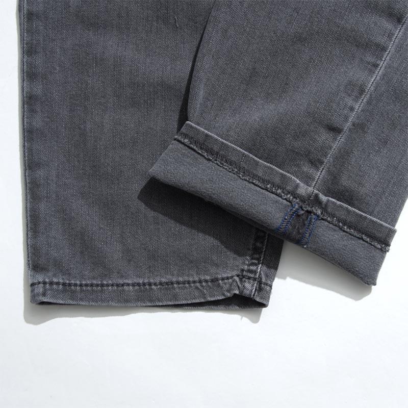 柴油DIESEL按钮油炸食品牛仔裤RHIAL SLIM CARROT真实纤细胡萝卜GREY灰色派rhial 00sxqi 0681d人