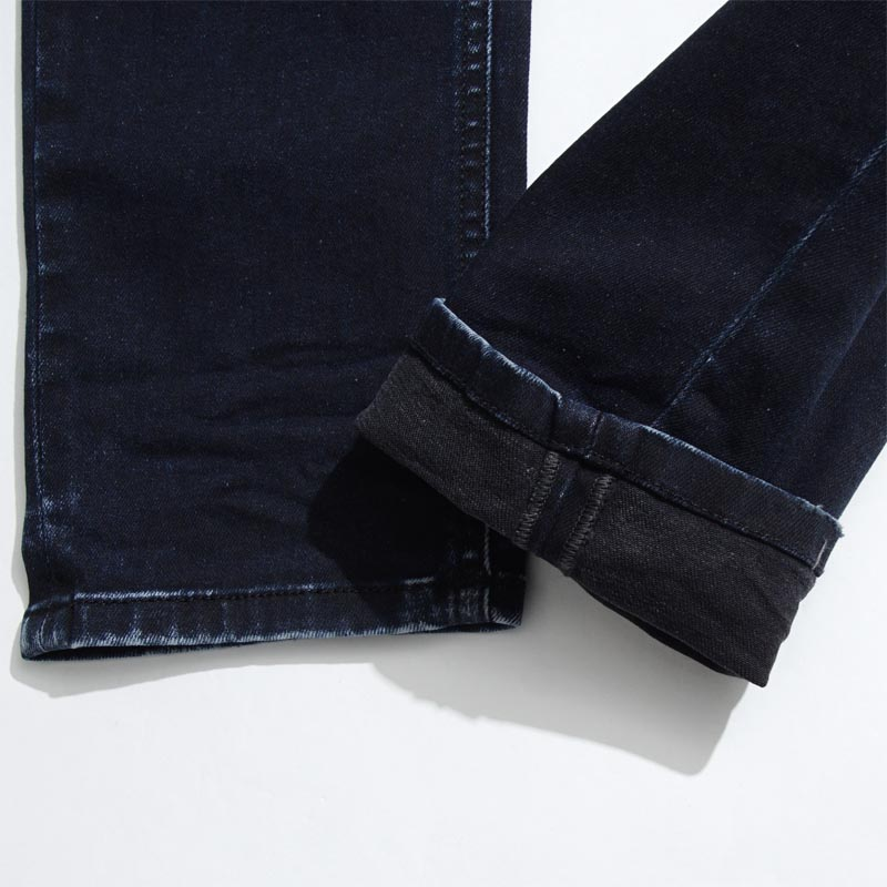 Diesel DIESEL button fried food jeans SLEENKER SLIM SKINNY indigo blue blue system sleenker 00s7vg 0679q men