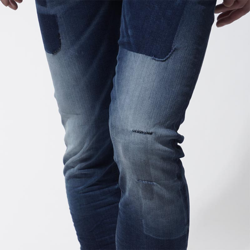 柴油DIESEL按钮油炸食品牛仔裤DIESEL DNA TEPPHAR SLIM CARROT靛蓝蓝色派tepphar 00ckri 084bw人