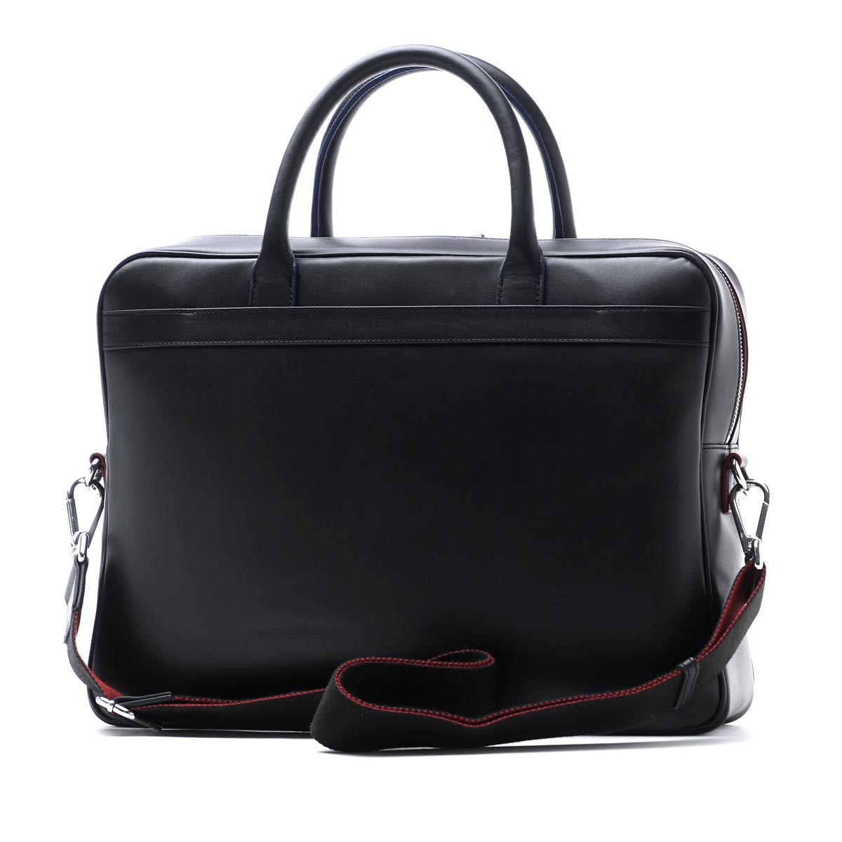 Paul Smith Paul Smith briefcase (2WAY specifications) MEN BAG FOLD LEATHER BLACK black system asxd 5013 l843 b men