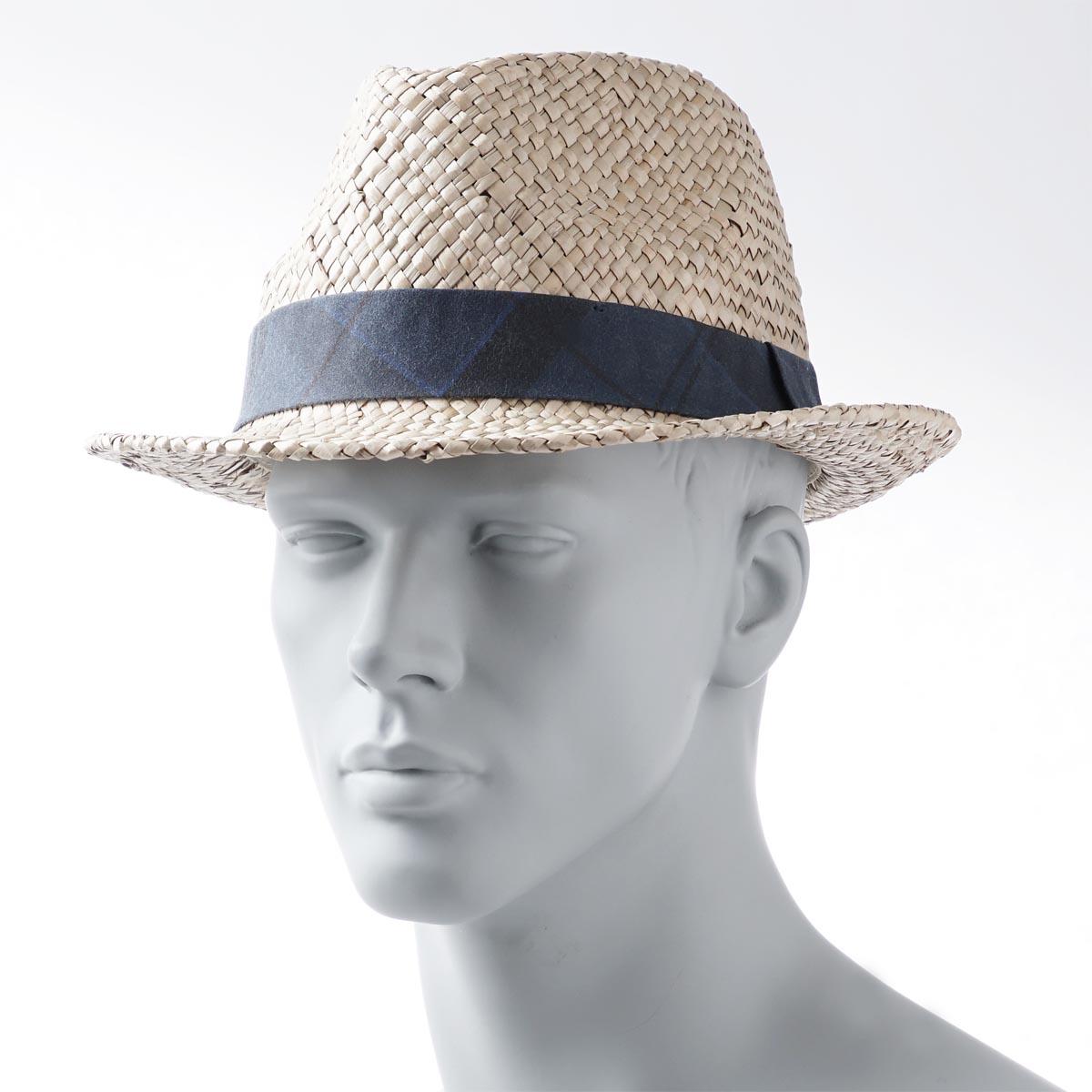 babua Barbour帽子舒适之帽中的去便帽TARTAN TRIMMED TRILBY NATURAL浅驼色派mha0353be11 natural人