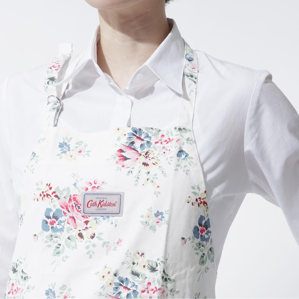 White apron london - Cath Kidston Cath Kidston Apron Bouquet Off White White System 663700 Lady S