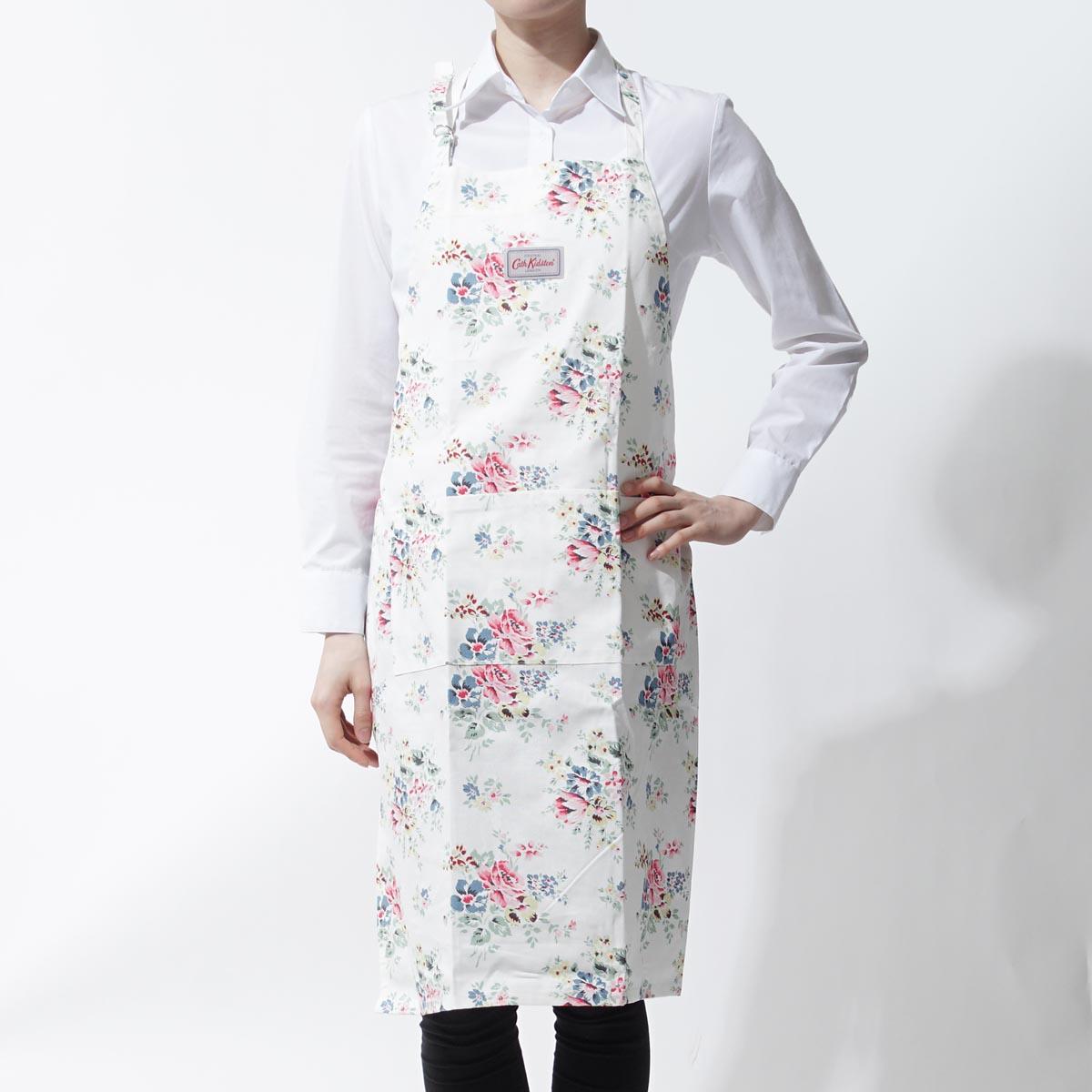 White apron delivery - Cath Kidston Cath Kidston Apron Bouquet Off White White System 663700 Lady S