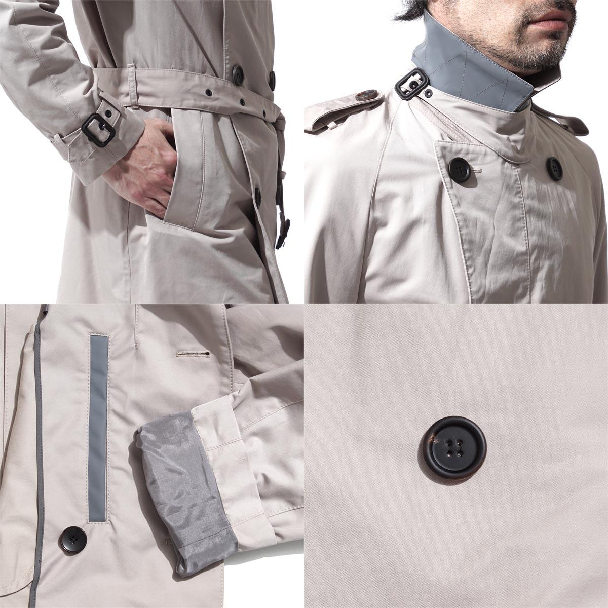老板Hugo老板BOSS HUGOBOSS双排扣有腰带的短外衣BLACK黑色DAN3 dan 2474人