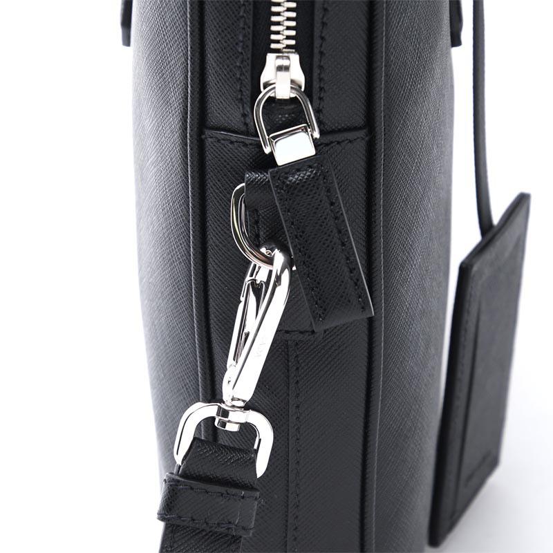 52a61ca817ac ... Prada PRADA briefcase 2WAY black men A4-adaptive 2ve368 9z2 f0002  SAFFIANO サフィアーノ ...